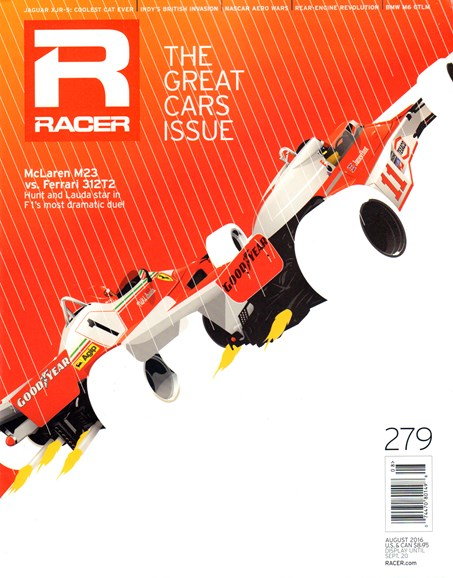 Racer Cover - 8/1/2016