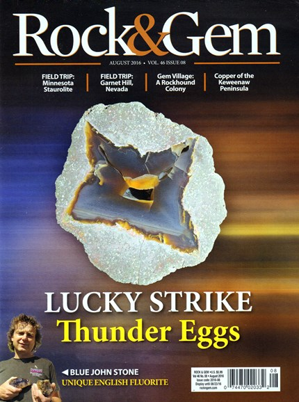 Rock & Gem Cover - 8/1/2016