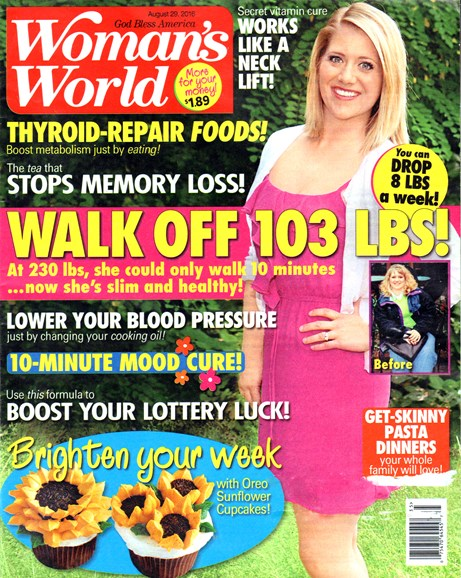 Woman's World Cover - 8/29/2016