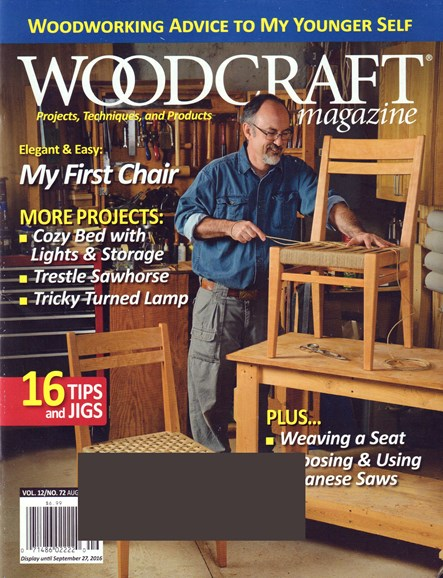 Woodcraft Cover - 8/1/2016