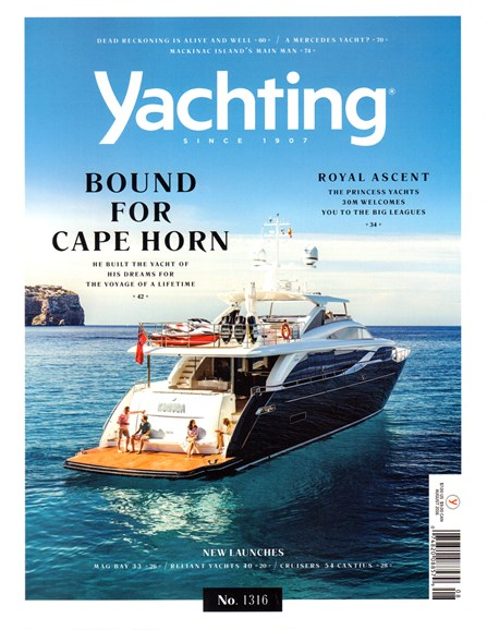 Yachting Cover - 8/1/2016