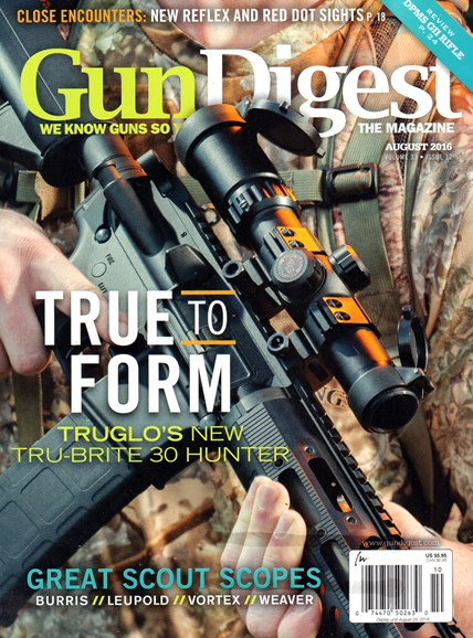Gun Digest Cover - 8/1/2016