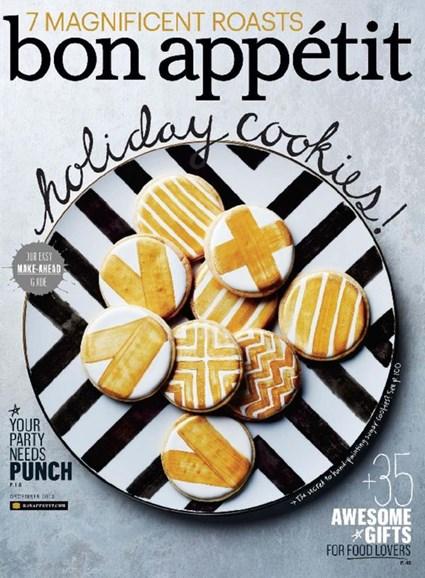Bon Appétit Cover - 12/1/2013