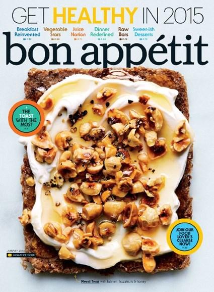 Bon Appétit Cover - 1/1/2015