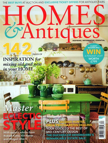 Homes & Antiques Cover - 7/1/2016