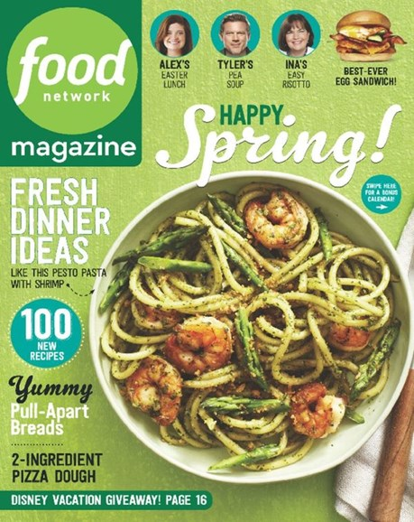 Food Network Cover - 4/1/2016