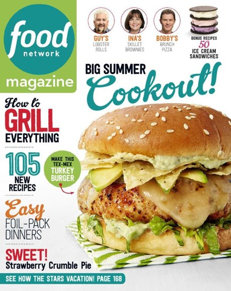 Food Network Cover - 6/1/2016
