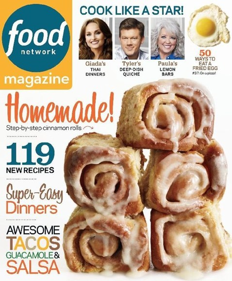 Food Network Cover - 5/1/2013