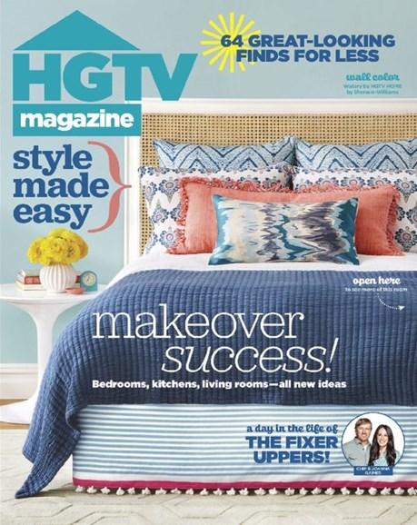 HGTV Cover - 4/1/2016