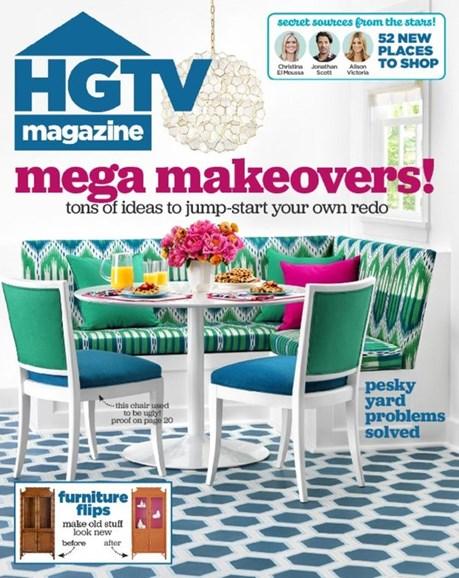 HGTV Cover - 9/1/2016