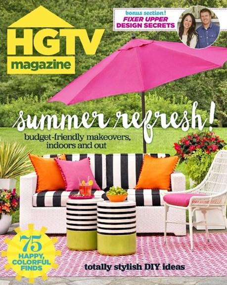 HGTV Cover - 7/1/2016