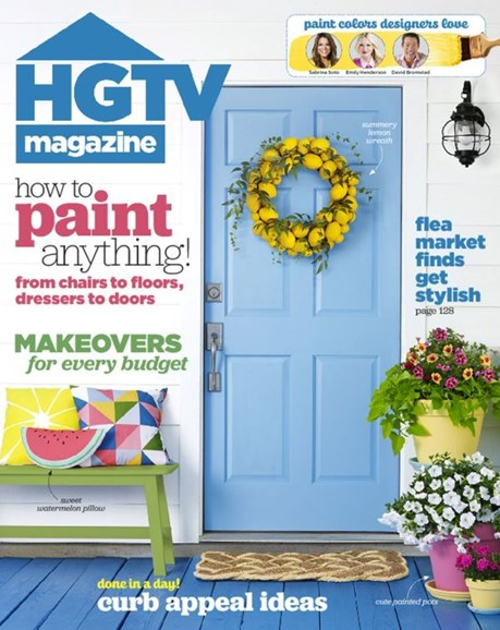 HGTV Cover - 6/1/2016