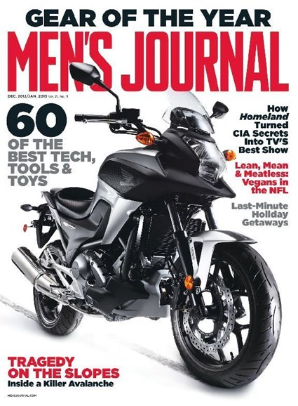 Men's Journal Cover - 1/1/2013