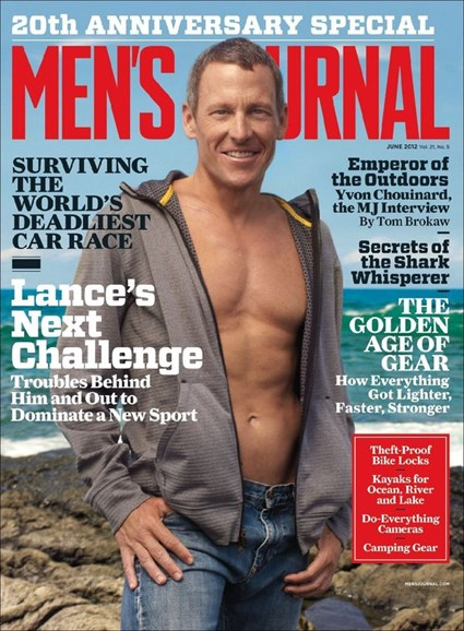 Men's Journal Cover - 6/1/2012
