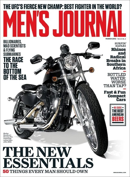 Men's Journal Cover - 3/1/2012