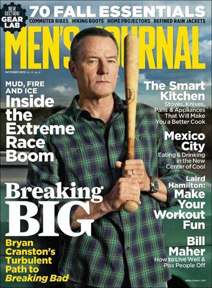 Men's Journal Cover - 10/1/2012