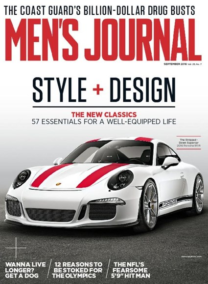 Men's Journal Cover - 9/1/2016