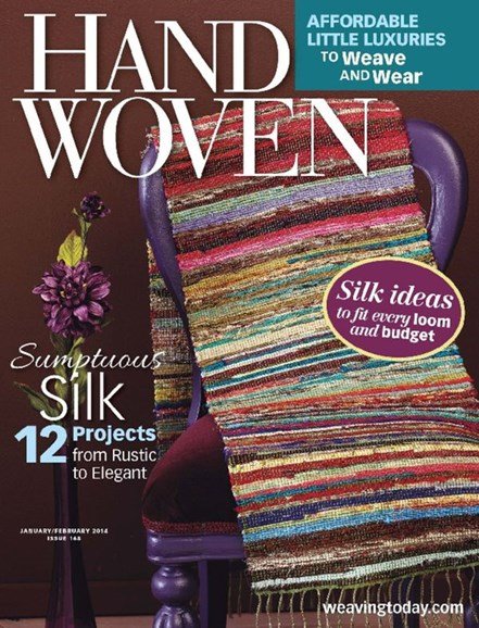 Handwoven Cover - 1/1/2014