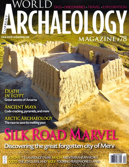Current World Archaeology Cover - 8/1/2016