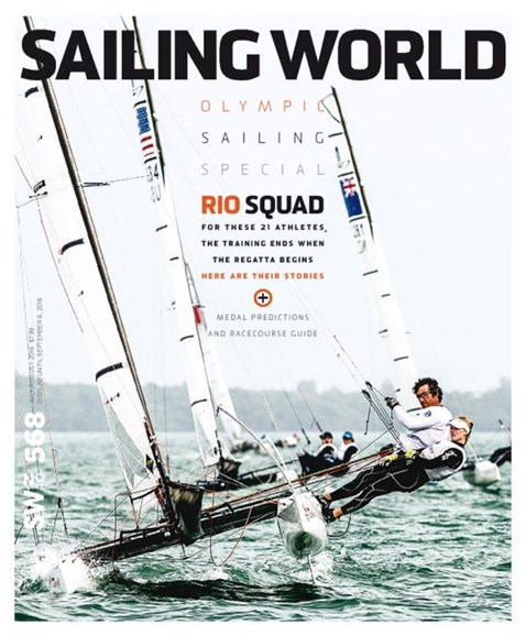 Sailing World Cover - 7/1/2016