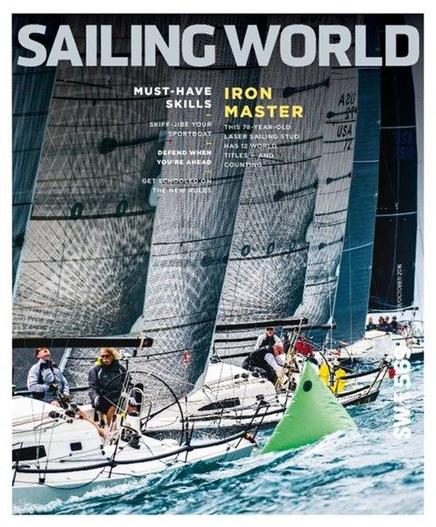 Sailing World Cover - 9/1/2016