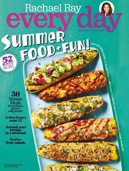 Rachael Ray Every Day Cover - 7/1/2016