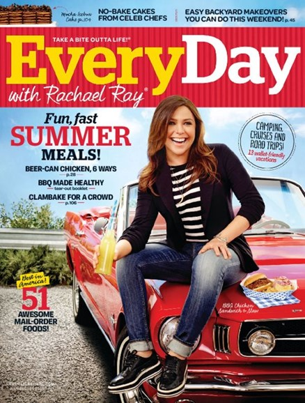 Rachael Ray Every Day Cover - 7/1/2015