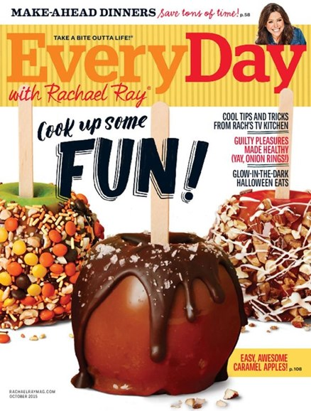 Rachael Ray Every Day Cover - 10/1/2015
