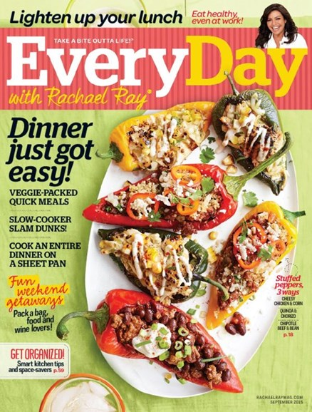Rachael Ray Every Day Cover - 9/1/2015