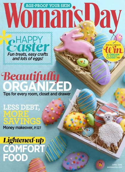 Woman's Day Cover - 4/1/2016