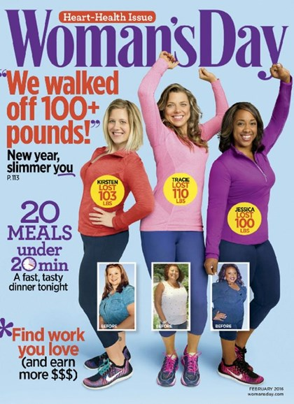 Woman's Day Cover - 2/1/2016