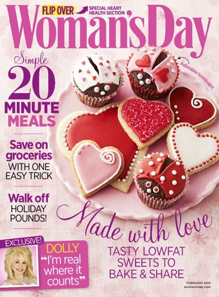 Woman's Day Cover - 2/1/2015