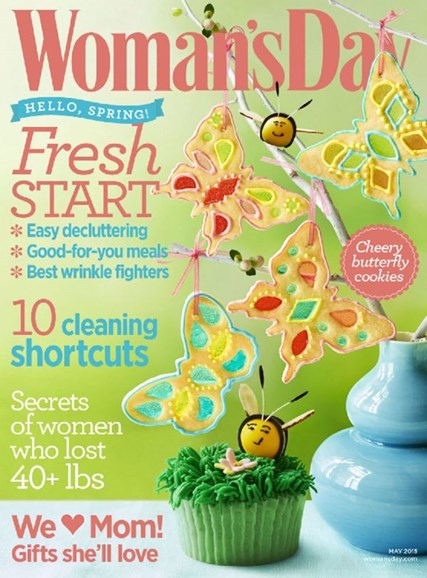 Woman's Day Cover - 5/1/2015