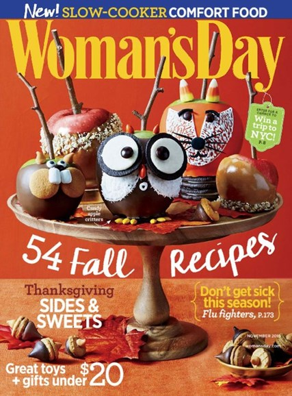Woman's Day Cover - 11/1/2015
