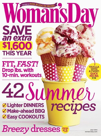Woman's Day Cover - 7/1/2014