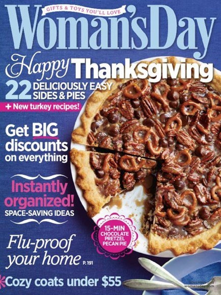Woman's Day Cover - 11/1/2013