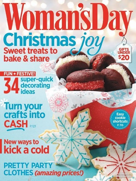 Woman's Day Cover - 12/1/2012