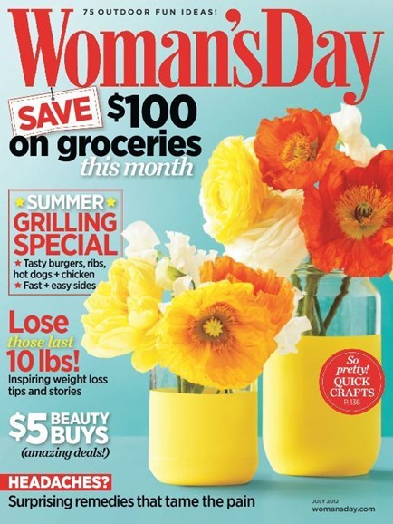 Woman's Day Cover - 7/1/2012