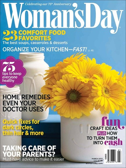 Woman's Day Cover - 3/1/2012