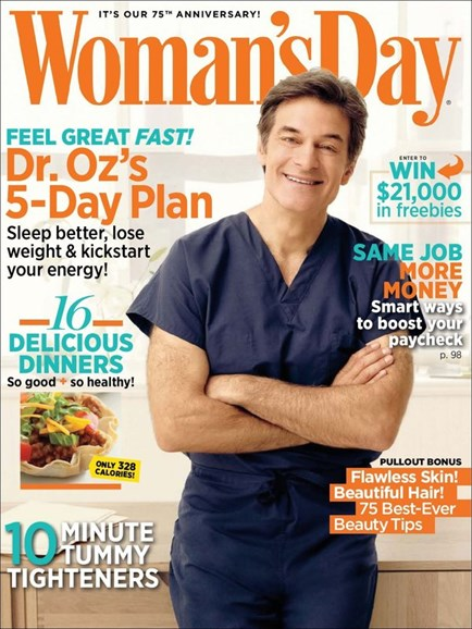 Woman's Day Cover - 5/1/2012