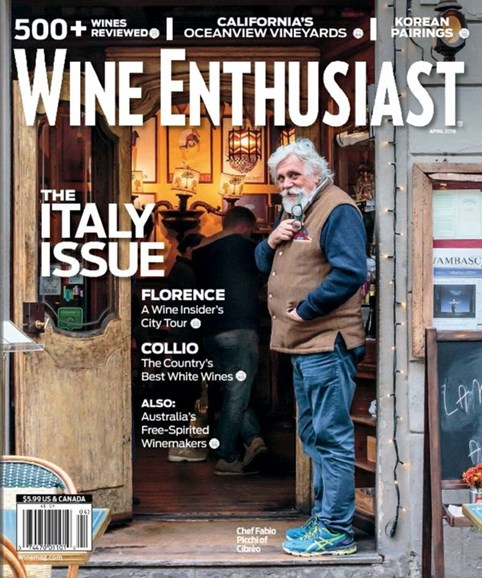 Wine Enthusiast Cover - 4/1/2016