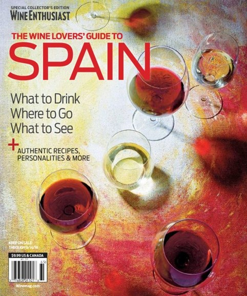 Wine Enthusiast Cover - 6/15/2016