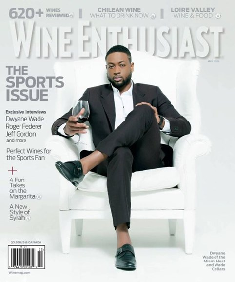 Wine Enthusiast Cover - 5/1/2016