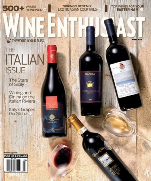 Wine Enthusiast Cover - 4/1/2015