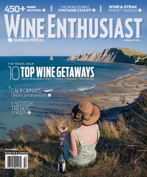 Wine Enthusiast Cover - 2/1/2015