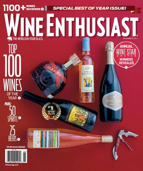 Wine Enthusiast Cover - 1/1/2015