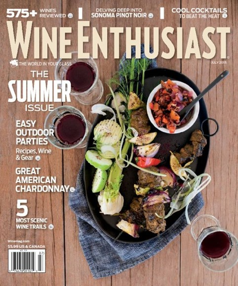 Wine Enthusiast Cover - 7/1/2015