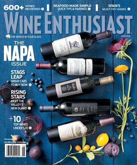 Wine Enthusiast Cover - 6/1/2015