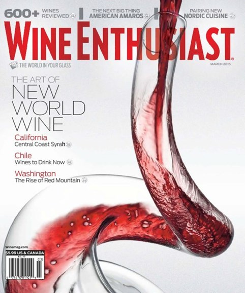Wine Enthusiast Cover - 3/1/2015