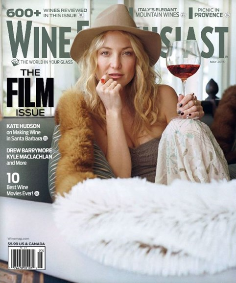 Wine Enthusiast Cover - 5/1/2015